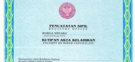 Syarat Buat Akta Kelahiran Anak di Semarang